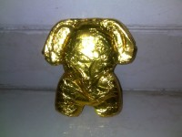 Golden Ganapati