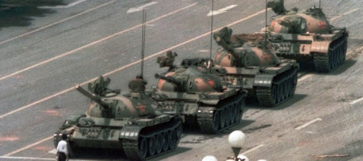 Tank Man and Protests at Tiananmen Square