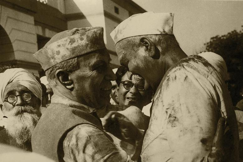 Govind Ballabh Pant and Jawaharlal Nehru