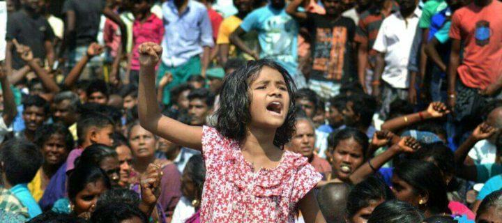 ஜல்லிக்கட்டு – பெண்கள் புரட்சி